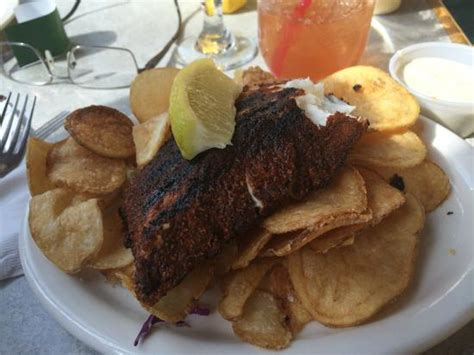 Chair 5 Girdwood Menu by Blackened Haddock With Chips Picture Of Chair 5