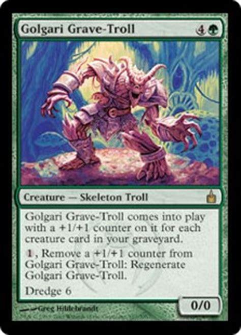 golgari grave troll ravnica city of guilds gatherer
