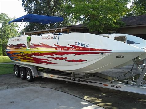 Party Cat Boat by Advantage Boats Party Cat 28xl Boat For Sale From Usa