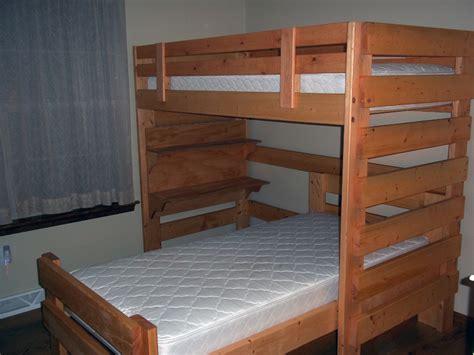 pdf diy bunk bed plans l shaped built bookcase