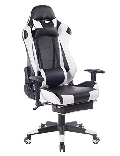killbee ergonomic reclining swivel gaming chair large size pvc leather executive office chair