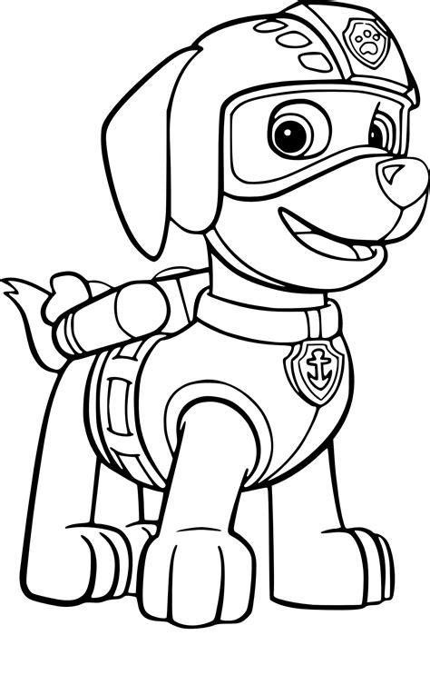 coloriages de dessins anim 233 s pat patrouille page 3