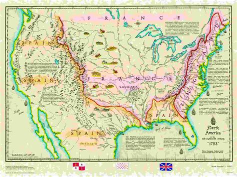 united states mountains map