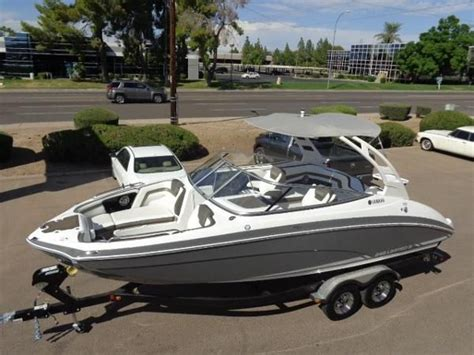 Pontoon Trailer Rental Eau Claire Wi by Boat Trader Yamaha 242 Limited S Boat Sales Near Toledo