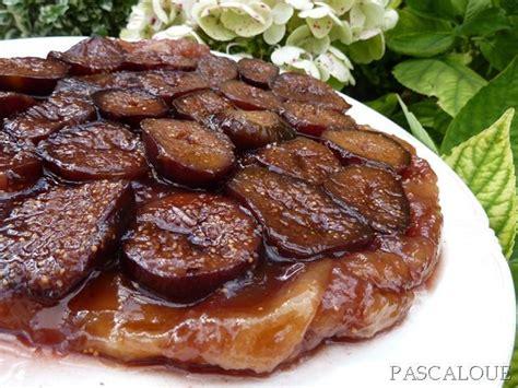 tarte tatin aux figues et miel