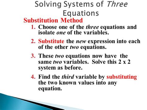 Chapter 3  Systems Of Linear Equations  Ppt Video Online Download