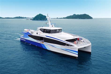 Catamaran Luxury Ferry by Ic14221 33m Catamaran Passenger Ferry
