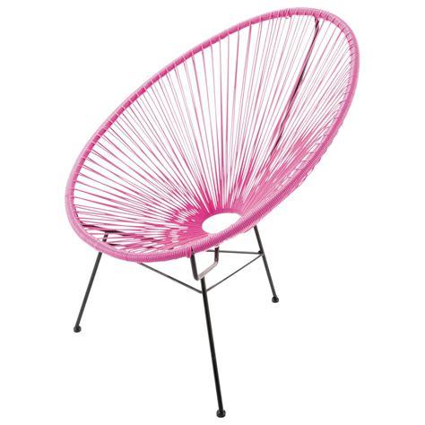 fauteuil de jardin rond copacabana maisons du monde