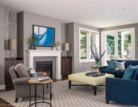 Blue Grey Color Scheme For Transitional Living Room With Best Laminate Flooring Looks Like Hardwood Basement Floor Paint And Sealer Ceramic Wood Uk Tools Pittsburgh Lifeline Resilient Types Of Over Radiant Heat Cheap Fitting Options For Kitchen