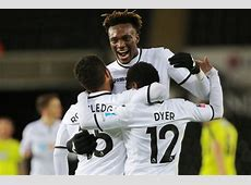 Swansea 8 Notts County 1 Swans break FA Cup record as