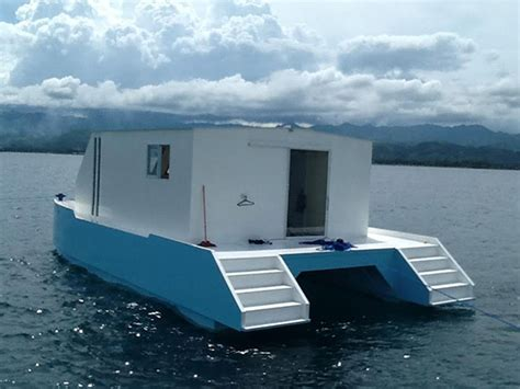 Catamaran Houseboat For Sale by Liveaboard Boats For Sale Philippines Banca Multihull