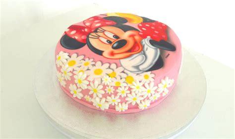 gateau minnie pate 224 sucre facile univers cake univers cake