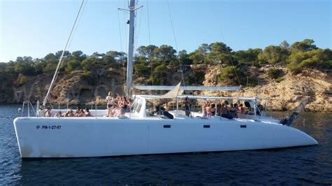 Catamaran Ibiza Formentera Fiesta by Catamaran Hire Ibiza 80 People Party Boat Ibiza