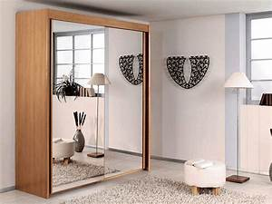 Kleiderschrank Schiebetüren Spiegel : kleiderschrank mit schiebet ren originelle vorschl ge f r ihr zuhause ~ Markanthonyermac.com Haus und Dekorationen