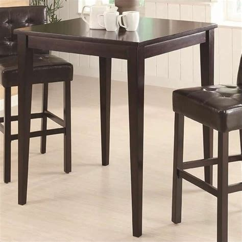 Coaster Bar Height Square Pub Table In Cappuccino  102587. Old School Lap Desk. Usb Desk Grommet. Barn Door Desk. New Peabody School Desk. How To Build A Corner Desk. Best Paint For Desk. Dining Table For Two. Architectural Drafting Table