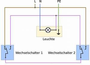 Lampe Mit Bewegungsmelder Und Schalter : probleme wechselschaltung licht 2 schalter und 1 l wer weiss ~ Markanthonyermac.com Haus und Dekorationen