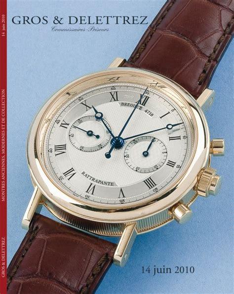 vente aux encheres montres modernes et de collection gros delettrez