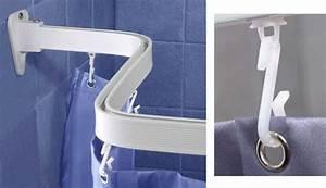 Duschvorhang Für Fenster : flexible duschvorhang haken schiene duschvorhang stange bis 300 cm neu flex ebay ~ Markanthonyermac.com Haus und Dekorationen