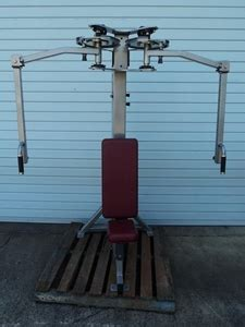 fitness pro 2 cable pec deck rear deltoid fly inc 138kg weights auction 0002 7000843