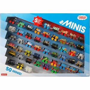 Fisher-Price Thomas & Friends MINIS 50-Pack - Walmart.com