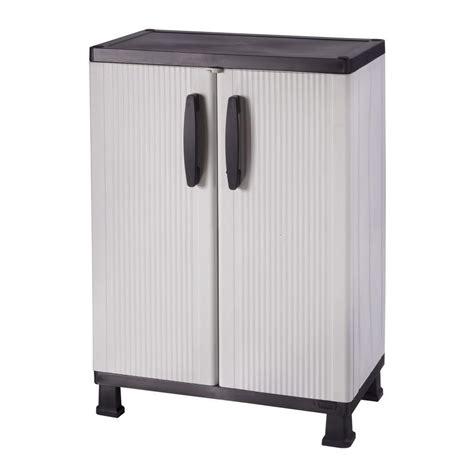 plastic black free standing cabinets garage cabinets storage systems garage storage