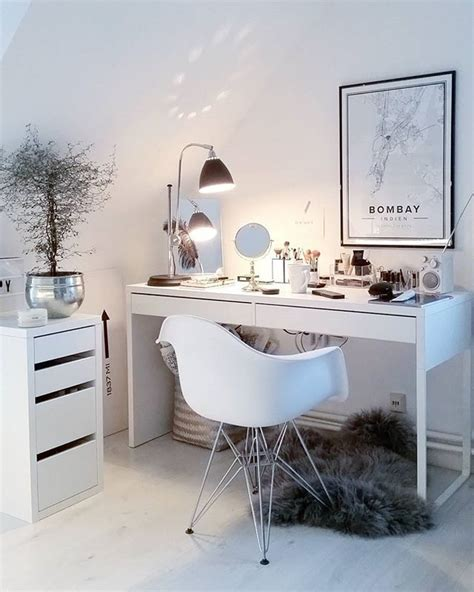 Vanity And Work Desk Combo by Best 25 Ikea Desk Ideas On