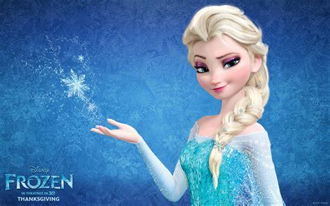 Queen Elsa From Disney's Frozen Desktop Wallpaper