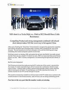 NIO Short Is A Tesla DéJà Vu - Path To $12 Should Have ...