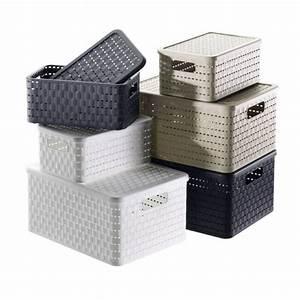 Cd Boxen Kunststoff : aufbewahrungsboxen mit kisten boxen ordnung schaffen ~ Markanthonyermac.com Haus und Dekorationen