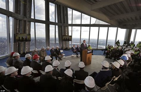 one world trade center stunning images taken from observation deck high above new york daily