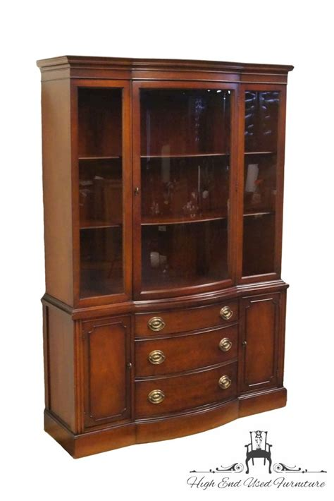 high end used furniture drexel travis court mahogany