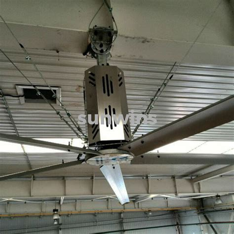 sunwins hvls big ceiling fan hv 4200 sunwins power m
