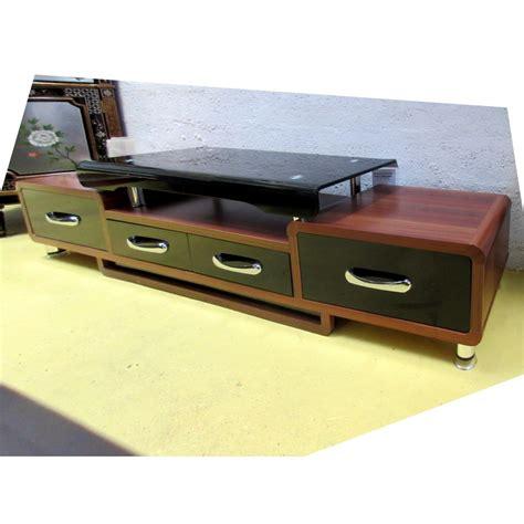 meuble t 233 l 233 hi fi verre et bois promodiscountmeubles magasin en ligne de meubles chinois et