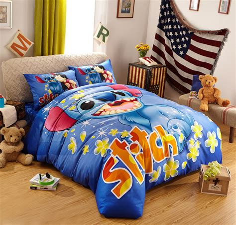 lilo and stitch bedding size bed set 100 cotton bedclothes quilt cover sets