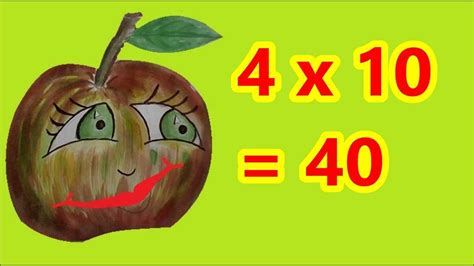 table de multiplication de 4 ce1 et ce2