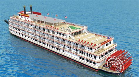 Mississippi Queen Riverboat Cruises by See Historical South On A Paddlewheeler Boat On The