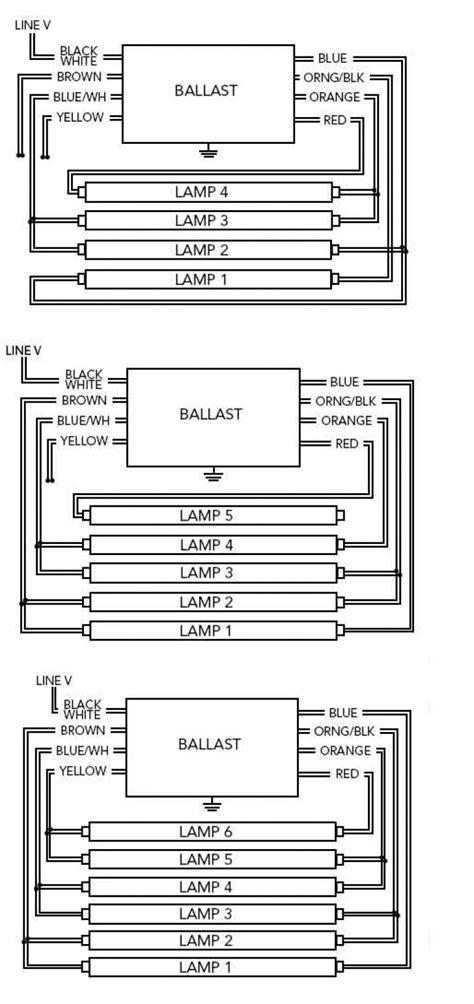 19 advance 4 l t12 ballast f96t12 bulb wiring