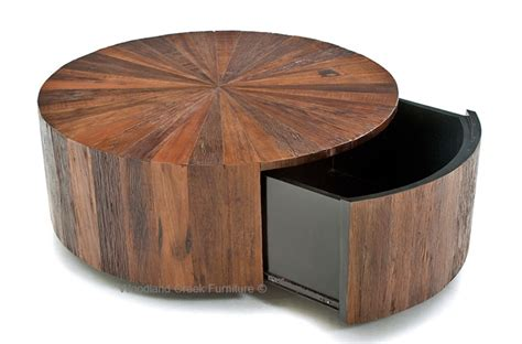 Coffee Table: Impressing Round Rustic Coffee Table Round Rustic Modern Coffee Table, Farmhouse