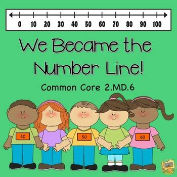 Number Lines 2md6 We Became The Number Line! Activities