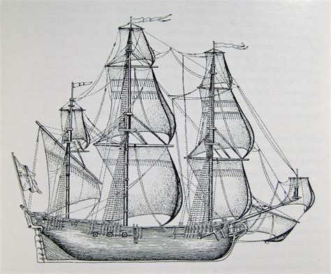 How To Draw A Old Boat by Old Ship Drawing
