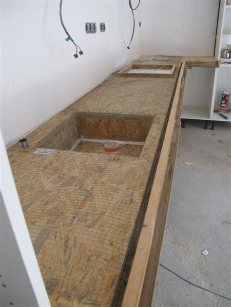 comment installer une vasque sur un plan de travail maison design bahbe