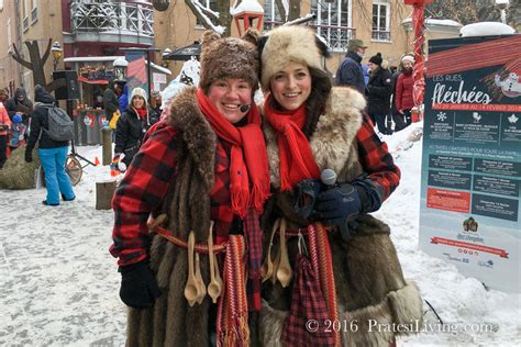 Bundle Up And Head For The Winter Carnivals In Québec!