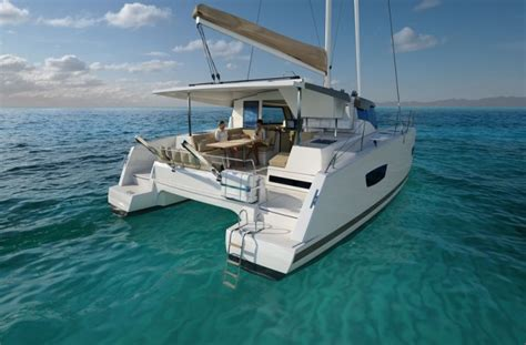 Catamaran 40ft Engine catamaran lucia fountain pajot new 40ft 2016