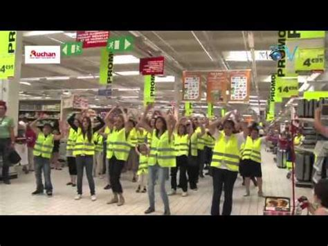 flashmob auchan le pontet