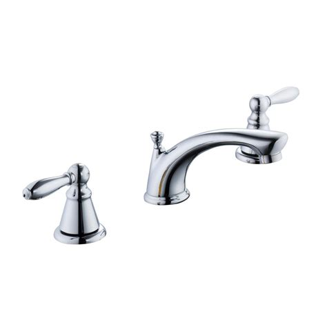glacier bay 2500 series 8 in widespread 2 handle bathroom faucet in chrome 67575w 6001 the