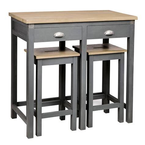 tabouret de table en bois