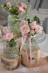 Vintage Style Deko : hochzeitsdeko stammset holz vasen hochzeit vintage ein designerst ck von majalino bei dawanda ~ Markanthonyermac.com Haus und Dekorationen