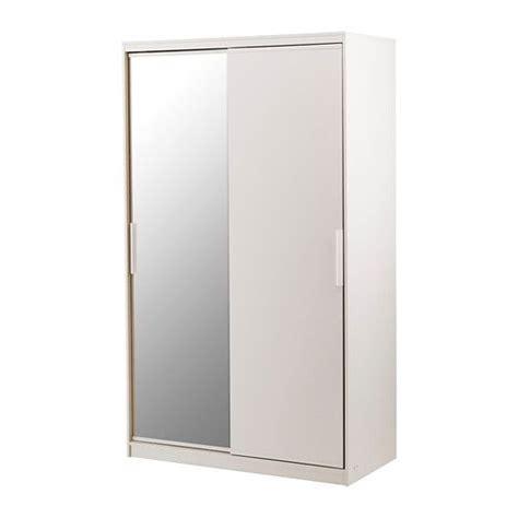 morvik armoire penderie blanc miroir ikea furniture mirror glass ikea