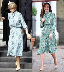 Kate Middleton's Floral Dress — A Tribute To Princess ...