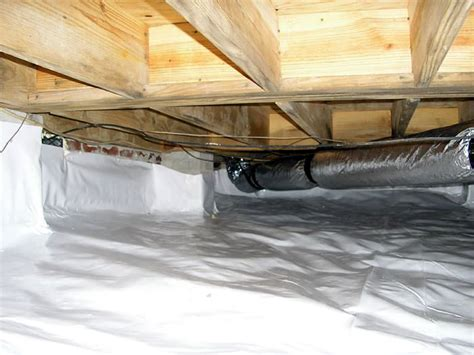 100 insulating vented crawl space with dirt floor